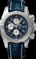 Breitling Avenger Super Avenger A13370.BLUE.CALF.BD
