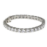 11 ctw Round Diamond Tennis Bracelet (F-G/VS1)