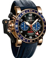 Graham Chronofighteroversize Gmt Bluegold