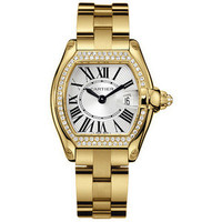 Cartier Roadster Ladies (Diamonds/Silver/YG)