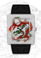 Franck Muller Infinity Dragon WG Quartz Diamond Watch 3740 QZ DRG D CD-2