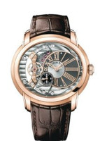 Audemars Piguet Millenary Automatic Anthracite & Silver Dial Watch 15350OR.OO.D093CR.01
