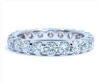 2.18 cttw Diamond Ring In Platinum
