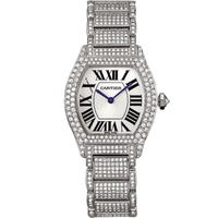 Cartier Cartier Tortue Small (WG Diamonds/ Silver /WG-