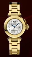 Cartier Miss Pasha (YG/Silver- Diamonds/YG)