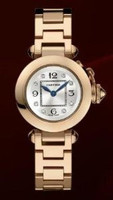 Cartier Miss Pasha (RG/Silver- Diamonds/RG)