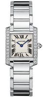 Cartier Tank Francaise (Diamonds/Silver/WG )