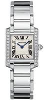 Cartier Tank Francaise (Diamonds/Silver/WG )