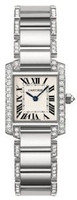 Cartier Tank Francaise (Diamonds/Silver/WG)