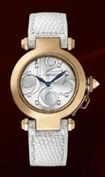 Cartier Pasha 32 mm Diamond RG Ladies (RG/Frosted-