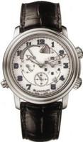 Blancpain Leman Reveil GMT Alarm Automatic White Dial Watch 2041-1127M-53B