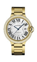 Cartier Ballon Bleu Large (YG Diamonds/Silver/YG)