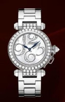 Cartier Pasha Small (WG Diamonds/Silver-Diamonds/WG)
