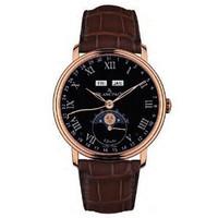 Blancpain Villeret 8 Day Complete Calendar Watch 6639-3637-55B
