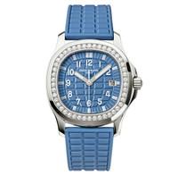 Patek Philippe Aquanaut Quartz Diamonds Steel WoWatch 5067A-022