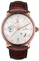 Blancpain Villeret Half-Hunter Half-Timezone Watch 6665-3642-55B