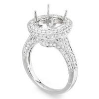 1.14 Ct Diamond Engagement Ring Setting