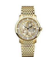 Patek Philippe Ladies Ultra Thin Skeleton (YG/Skeleton/YG Bracelet)
