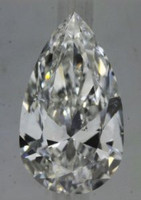 1.50 Carat F/SI1 Pear GIA Certified Diamond (VG/EX/VG)