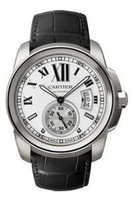Cartier Calibre Automatic Steel Watch W7100037