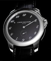 Ludovic Ballouard Upside Down Platinum Black Dial Watch MLB UPD PBD