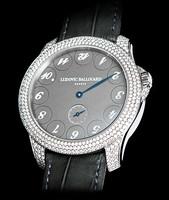 Ludovic Ballouard Upside Down Platinum Silver Dial Diamond Watch MLB UPD PSDD