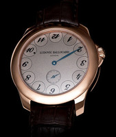 Ludovic Ballouard Upside Down 18k RG Grey Dial Watch MLB UPD RGGD