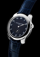 Ludovic Ballouard Upside Down Platinum Blue Dial Watch MLB UPD PBLUD