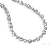 Ziva Vintage Diamond Necklace