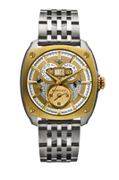Bentley Solstice Dual Time BD Titanium Watch 81-45770