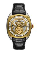 Bentley Solstice Dual Time BD Titanium Watch 81-45771