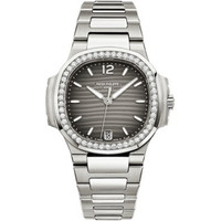 Patek Philippe Nautilus Automatic Diamonds Steel WoWatch 7018/1A-011
