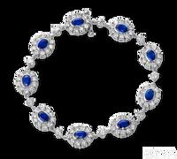 Ziva Fancy Sapphire Bracelet