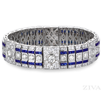 Ziva Antique Sapphire Bracelet