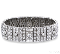 Ziva Antique Diamond Bracelet