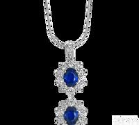 Ziva Sapphire Pendant