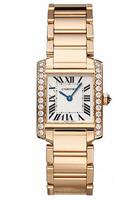 Cartier Tank Francaise (Diamonds/Silver/RG )