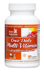 Multi-Vitamins Once Daily- 90 capsules