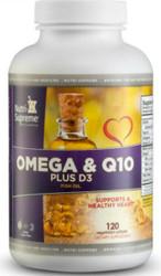 Omega-3 & CoQ10 Plus D3