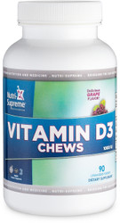 Vitamin D3 1000 IU 90 Chewables