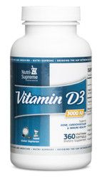 D3 3000 IU- 360 softgels