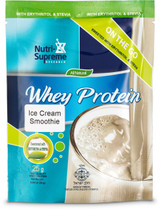 Whey Protein On The Go, Ice Cream Smoothie (With Stevia & Erythritol)