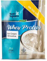 Whey Protein On The Go, Ice Cream Smoothie