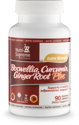 Boswellia, Curcumin and Ginger Root