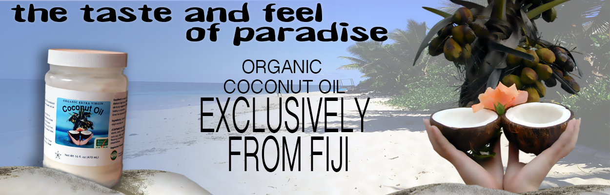 Organic Coconut Oil from the Fiji Islands
