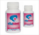 Vitaklenz is a blend of herbs traditionally used  to support a healthy digestive system.