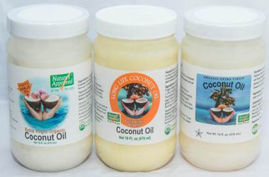 Choose any 3 (16 oz jars) of our flavored  Coconut Oils