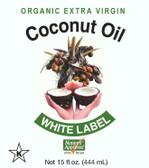 Pure White Label Coconut Oil  is unrefined, organic, non-GMO, KOSHER, vegan  formula.