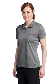 Nike Golf Ladies Dri-FIT Heather Polo