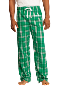 Mens Flannel Plaid Pant
